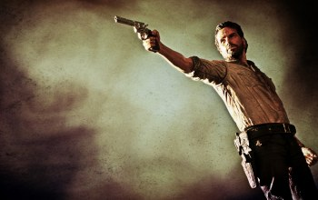 the walking dead,.357 magnum,colt python,andrew lincoln,Rick grimes