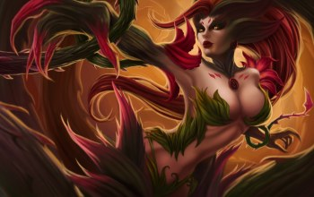 Zyra,league of legends,rise of the thorns