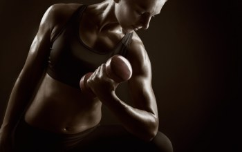 Woman fitness,workout,Weights,pose