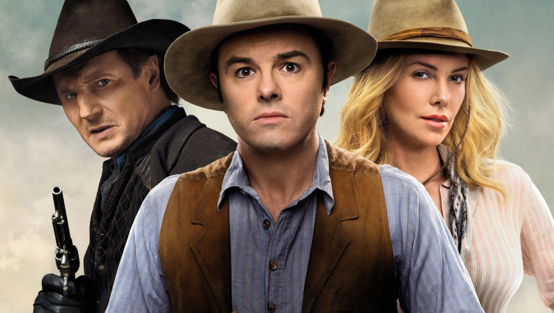 film,A million ways to die in the west,clinch,charlize theron,liam neeson