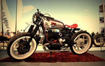 cafe racer,xt500,Bmw,motorcycle