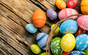 Easter,яйца,wood,happy,spring,holiday,eggs,colorful,Весна
