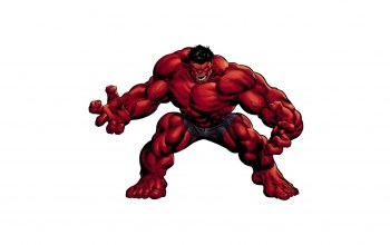 pose,Red hulk,power