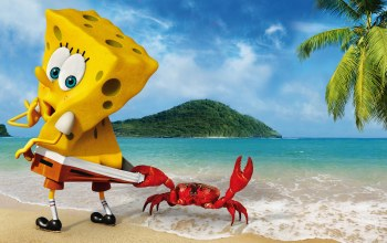 Губка боб ,sponge out of water,The spongebob movie