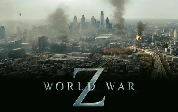 world war z,вид,дым,вертолеты,Война миров z