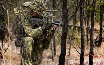 camouflage,australian army sniper,forest,soldier