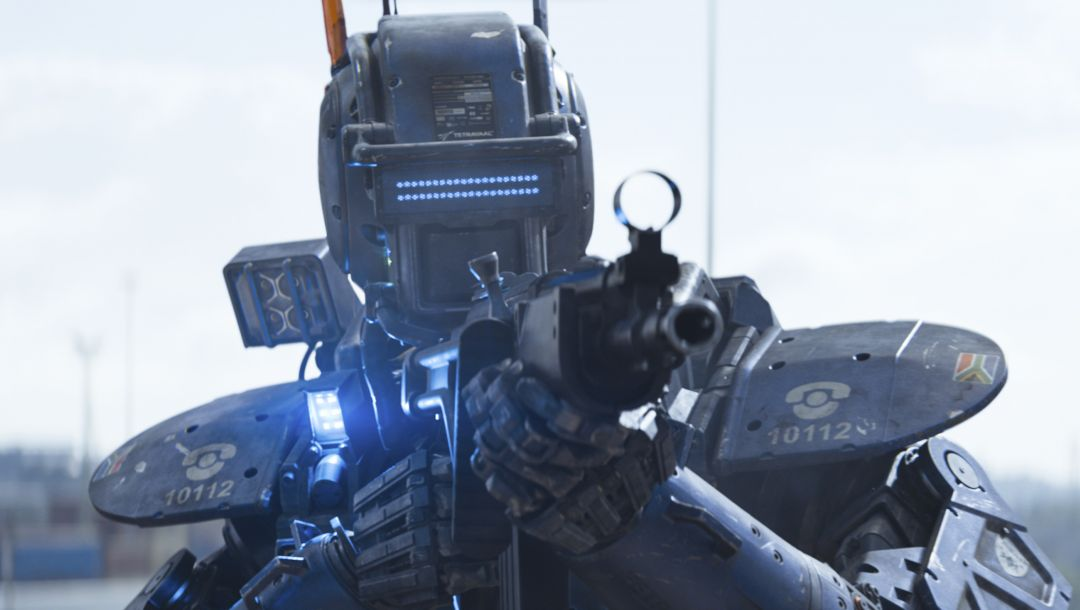 chappie,columbia pictures,sony pictures,sharlto copley,2015,movie,film,voice,chappie,year