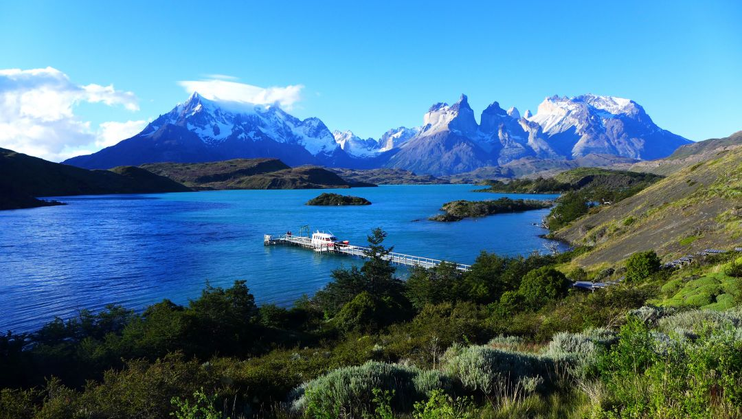 torres del paine,patagonia,chile,Lake pehoe