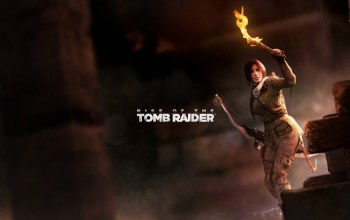 tomb raider,факел,лук,rise of the tomb raider,lara croft