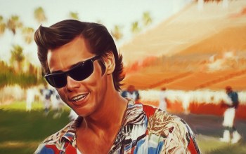 look,Ace ventura,colorful shirt,Jim carrey