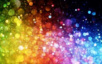 Abstract,rainbow,lights,bokeh,colorful,Цвет