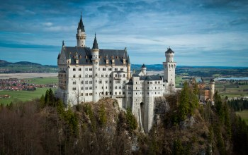 нойшванштайн,замок,Neuschwanstein castle,Germany,Bavaria,бавария
