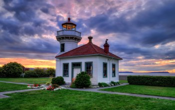 Mukilteo lighthouse,clinton,маяк,клинтон,вашингтон,tulalip bay,washington