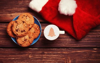 Biscuits,christmas cookies,christmas,chocolate milk,holiday,christmas tree,cool,for santa