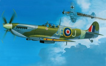 dogfight,war,bf 109,spitfire,ww2,aviation,Airplane,british fighter,aircraft