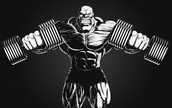 extreme,dumbbells,bodybuilder