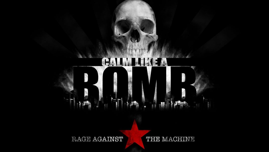 calm like a bomb,музыка,rapcore,череп,rage against the machine,Звезда,Music