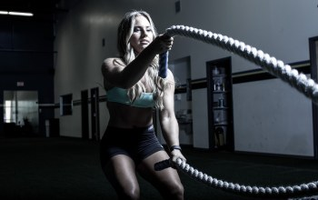 crossfit,rope,workout,blonde