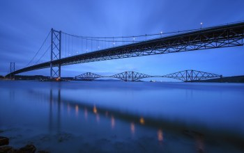 river,scotland,Шотландия,forth bridge