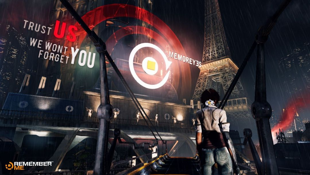 adrift,remember me,Neo-paris,the eiffel tower,Cyberpunk, capcom,nylin,memoreyes