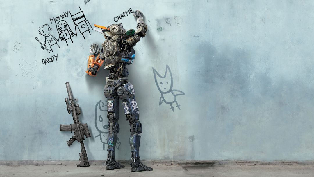 movie,sony pictures,year,voice,sharlto copley,Extended,chappie,chappie,2015,film,full