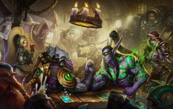 zeratul,sylvanas,witch doctor,illidan stormrage,nazeebo,heroes of the storm,viking