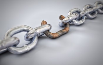 rust,Weak link,chain