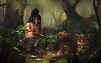 league of legend,зелье,nidalee,звери,пузырёк