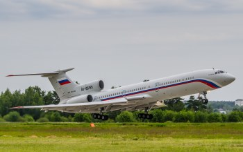 tupolev,tu-154,russian air force,Ra-85155