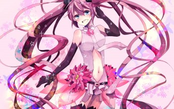 vocaloid,miku append,вокалоид,sakura miku