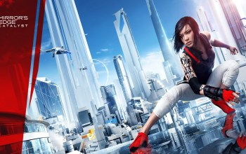 вертолеты,faith,Mirrors edge: catalyst,дома