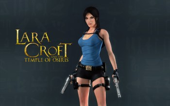 Lara croft and the temple of osiris,пистолеты,lara croft,tomb raider