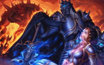 arthas,jaina proudmoore,warcraft,heroes of the storm