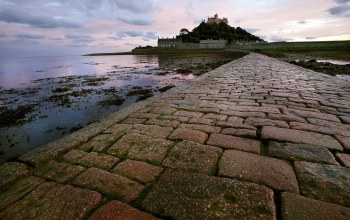 St michaels mount,Пейзаж