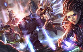 starcraft,heroes of the storm,Tyrael,jim raynor,archangel of justice