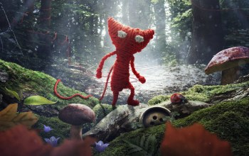 coldwood interactive,свет,Unravel,electronic arts,Грибы