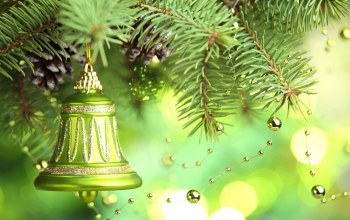 christmas tree,merry christmas,Bell,decoration