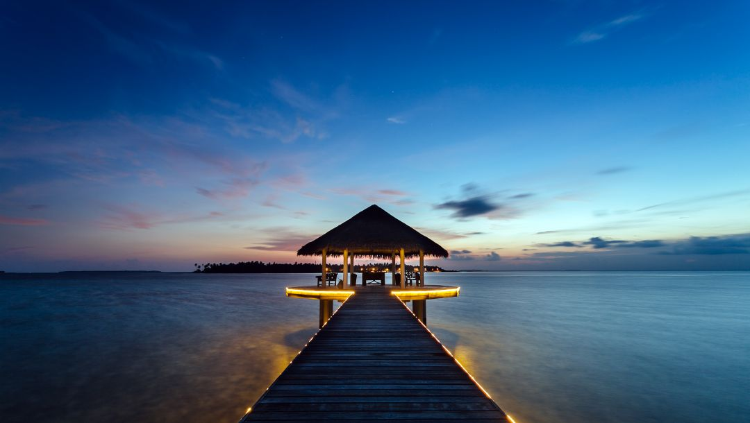 Пейзаж,Maldives,курорт,Kihaadhuffaru island,бунгало
