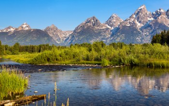 Grand teton national park,wyoming,сша