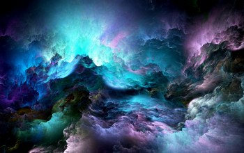 clouds,Облака,unreal,Abstract,colors,space,background