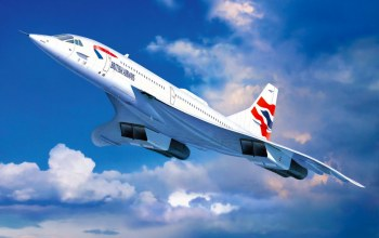 Concorde british airways,aviation,painting,jet,Airplane
