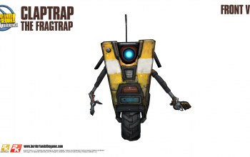 borderlands,Claptrap,front view,2k