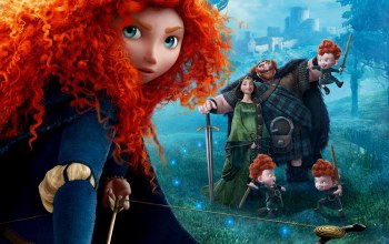 queen,red haired,film,princess,scotland,Brave,family,king,movie