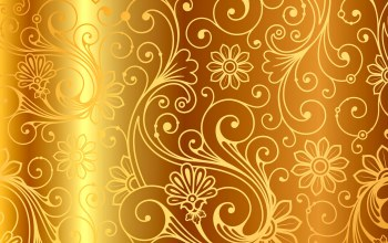 golden,узор,vintage,vector,background,золото