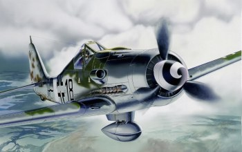 german airplane,ww2,painting.aviation,Fw 190 d-9,bomber hunter,war