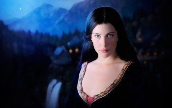 ночь,the lord of the rings,Arwen,liv tyler,эльфийка