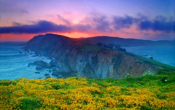 california,Point reyes national seashore,сша,marin county,калифорния
