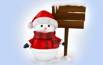 winter,snow,cute,Snowman,christmas,Santa,снеговик