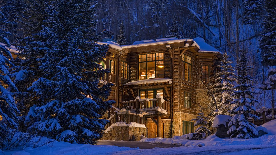 forest,Blue sky lodge,colorado,Wooden,Luxury