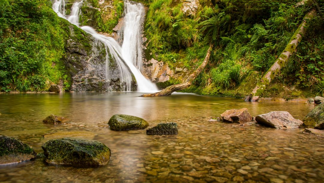 All saints waterfalls,Germany,black forest,lierbach river